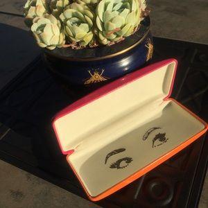 Kate Spade ♠️ 2 Tone Eye Glasses Case
